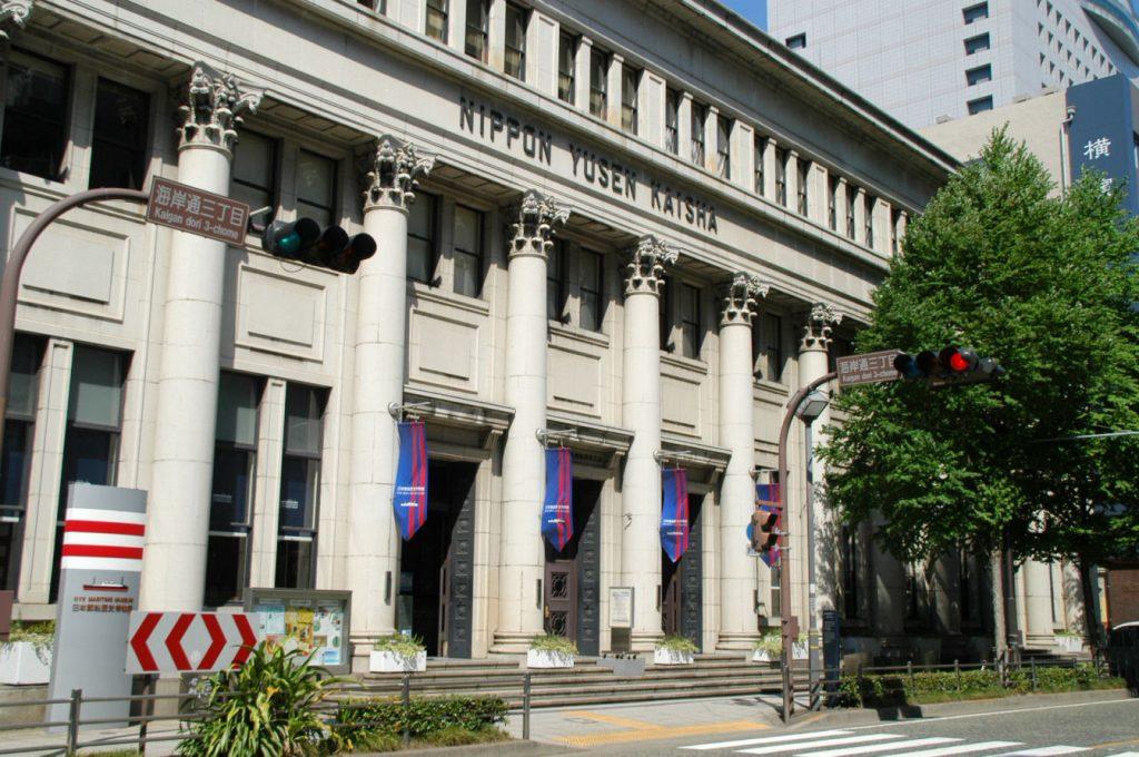 プリマ倶楽部本社がある横浜郵船ビル 今年、築80年となる歴史的建造物