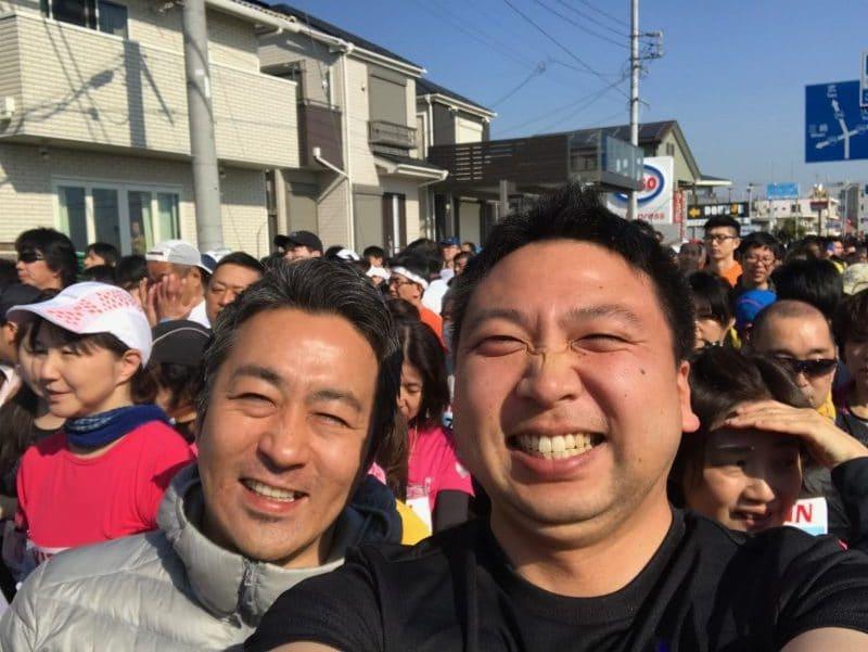 プリマ倶楽部永田と湯山、三浦国際市民マラソン