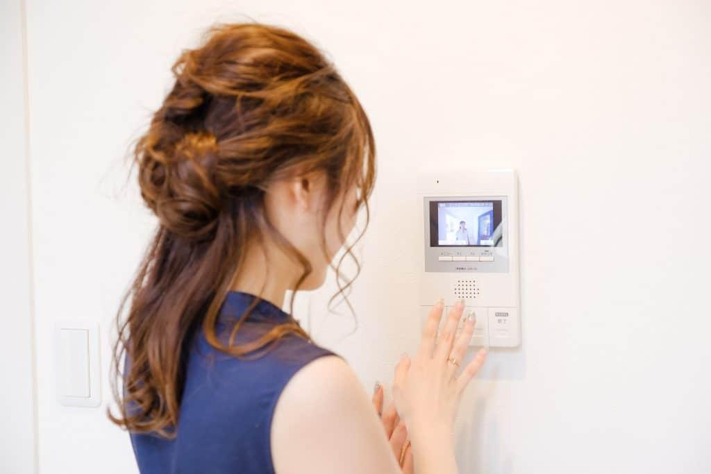 primaモニター付きインターフォン