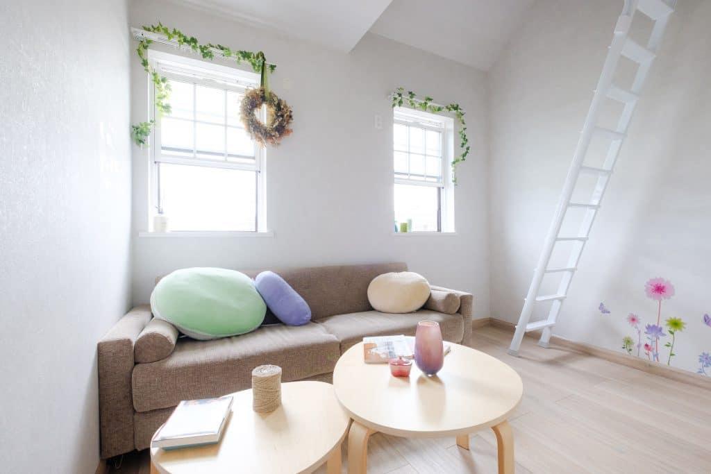 ファミリー向け戸建て賃貸アパート「ラストーリア双柳」の子供部屋の写真