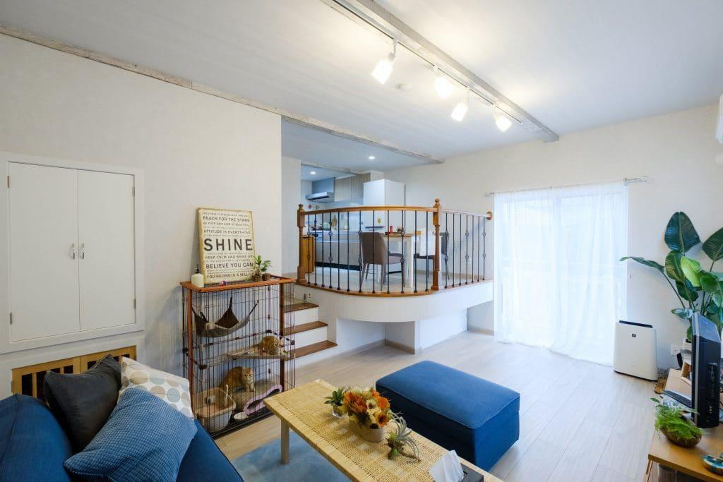 ファミリー向け戸建て賃貸アパート「ラストーリア双柳」のスキップフロアの写真
