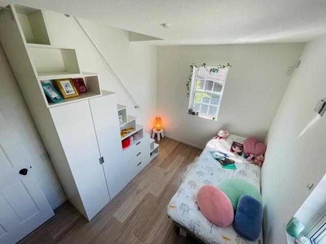 ファミリー向け戸建て賃貸アパート「ラストーリア森の台」収納付き階段の写真
