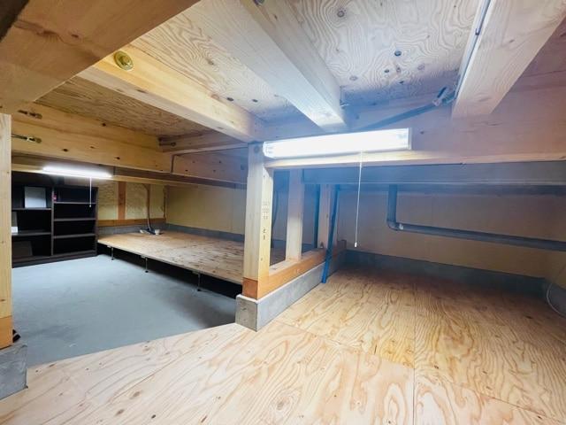 ファミリー向け戸建て賃貸アパート「ラストーリア森の台」の床下収納の写真