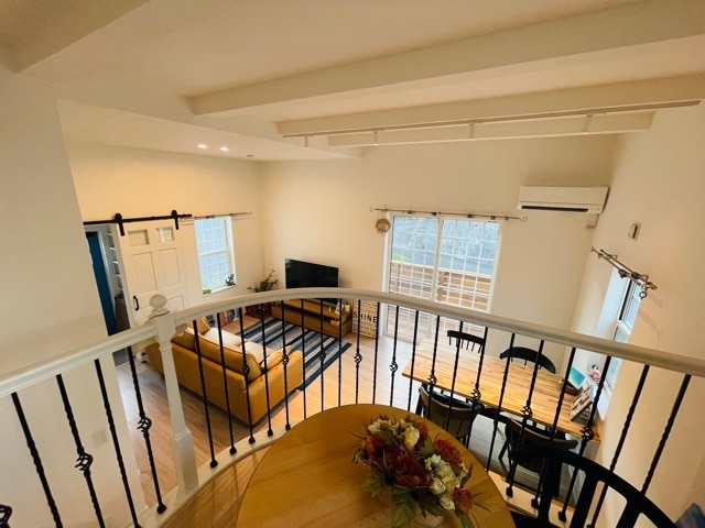 ファミリー向け戸建て賃貸アパート「ラストーリア森の台」スキップフロアの写真